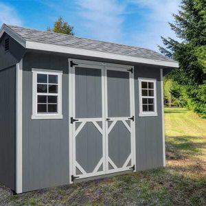 Quaker shed Gray