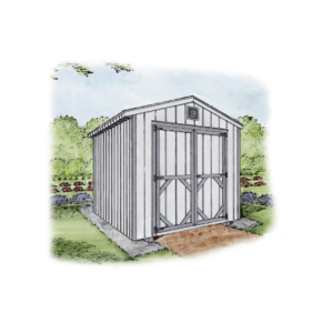 the perfect garden shed